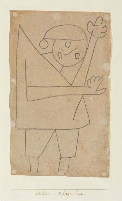 Paul Klee-Klage Lied-1939