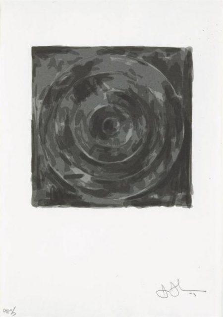 Jasper Johns-Target, from For Meyer Shapiro (ULAE 126)-1974
