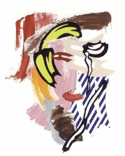 Roy Lichtenstein-Head-1986
