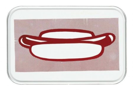 Roy Lichtenstein-Hot Dog-1964