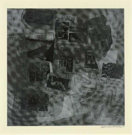 Robert Rauschenberg-Robert Rauschenberg - Surface Series (From Currents) (F. 112 and F. 127)-1970