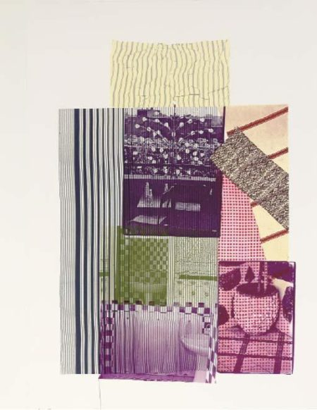 Robert Rauschenberg-Robert Rauschenberg - Pre-Morocco (From Eight By Eight To Celebrate)-1983