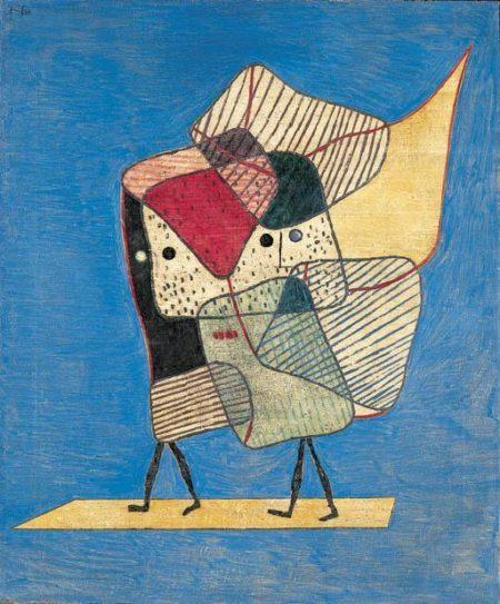 Paul Klee-Zwillinge (Twins)-1930