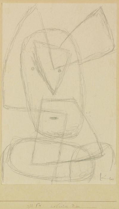 Paul Klee-Robuster Narr-1933