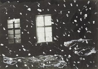 Anselm Kiefer-Snow-1981