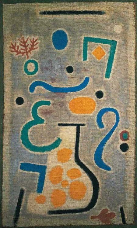 Paul Klee-Die Vase-1937
