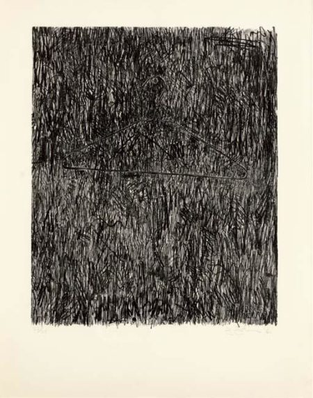 Jasper Johns-Coat Hanger I-1960