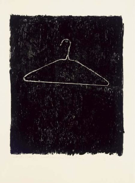 Jasper Johns-Coat Hanger II-1960