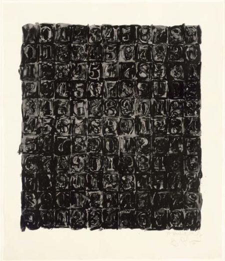 Jasper Johns-Numbers (ULAE 33)-1967