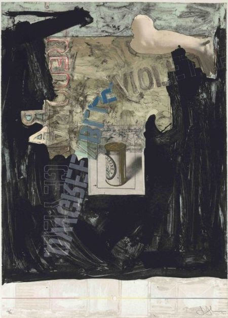 Jasper Johns-Decoy (ULAE 98)-1971