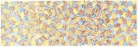 Jasper Johns-Untitled (ulae S46)-1983