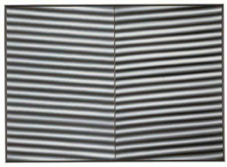 Gerhard Richter-Wellblech (Corrugated Iron)-1968