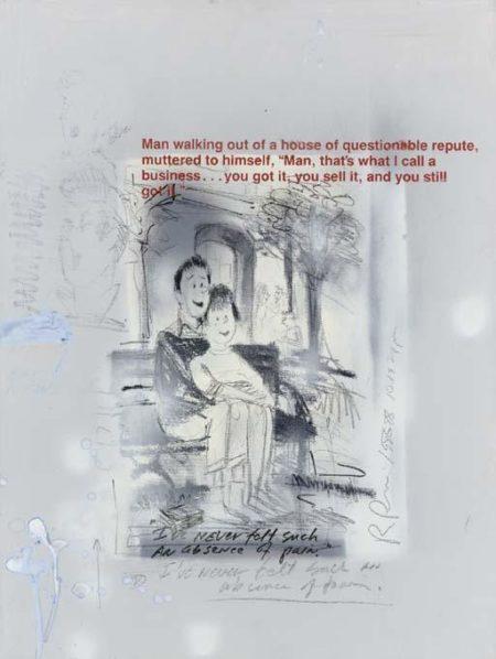 Richard Prince-I've Never Felt Such An Absence Of Pain..-1988
