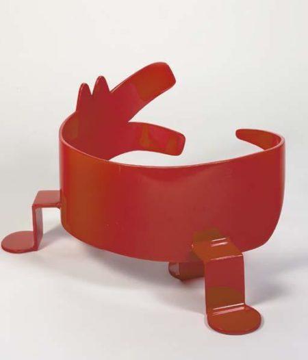 Keith Haring-Keith Haring - Circling Dog-1987