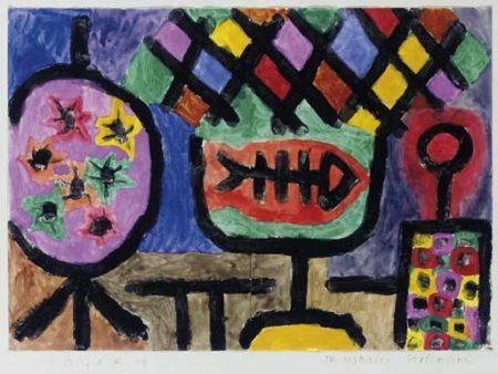 Paul Klee-Museales Stilleben (Still Life)-1940