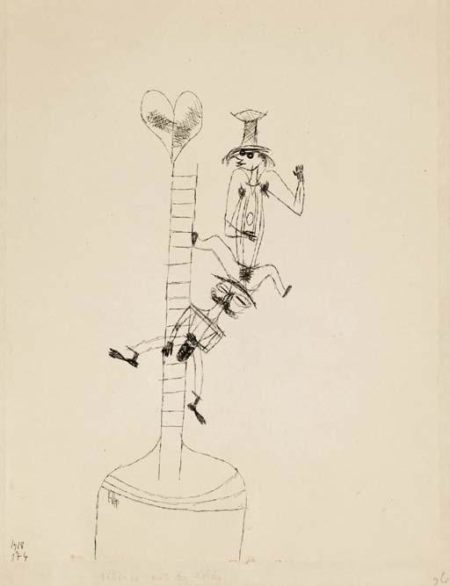 Paul Klee-Scherzo Mit Der Leiter (Scherzo And A Ladder)-1918