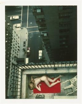 Helmut Newton-Central Park West, N.Y-1976