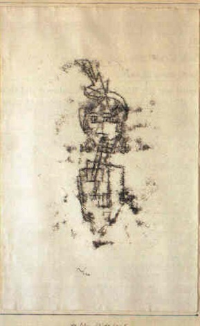Paul Klee-Altliches Kind II-1930