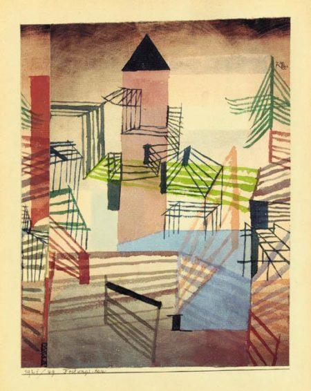 Paul Klee-Festungsbau-1921