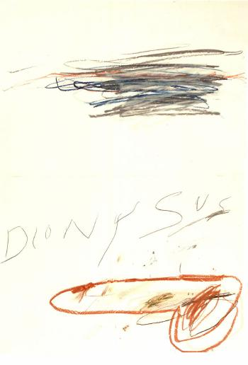 Cy Twombly-Dionysus-1975