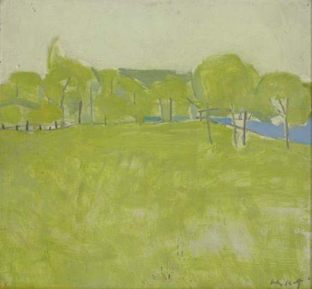 Alex Katz-Untitled-1955