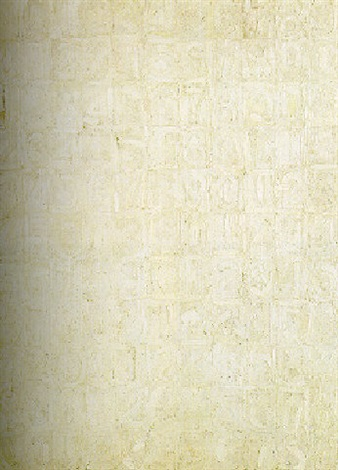 Jasper Johns-White Numbers-1959