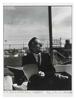 Helmut Newton-Dennis Hopper, Venice (1985)-1985