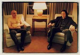 Portrait Of Dennis Hopper And Christopher Walken At Chateau Marmont-1995