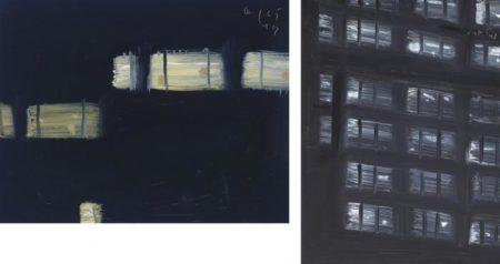 Alex Katz-West Side; Facade II-1997