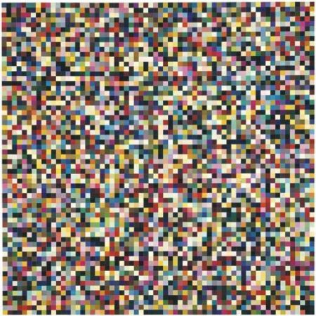 Gerhard Richter-4096 Colours (4096 Farben)-1974