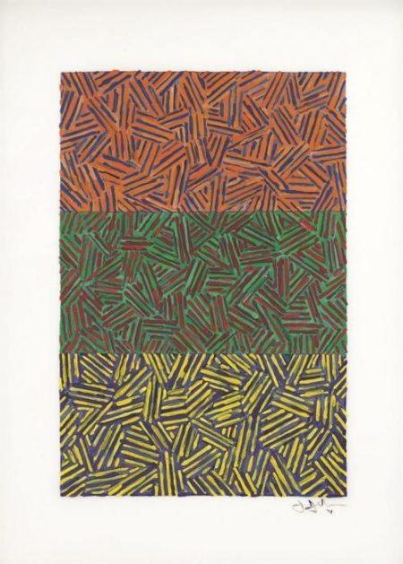 Jasper Johns-Untitled-1978