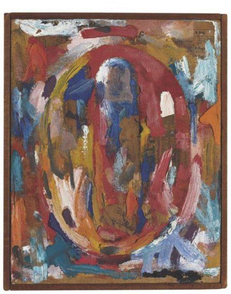 Jasper Johns-Figure 0-1959