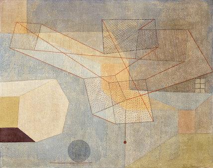 Paul Klee-Gleitendes-1930