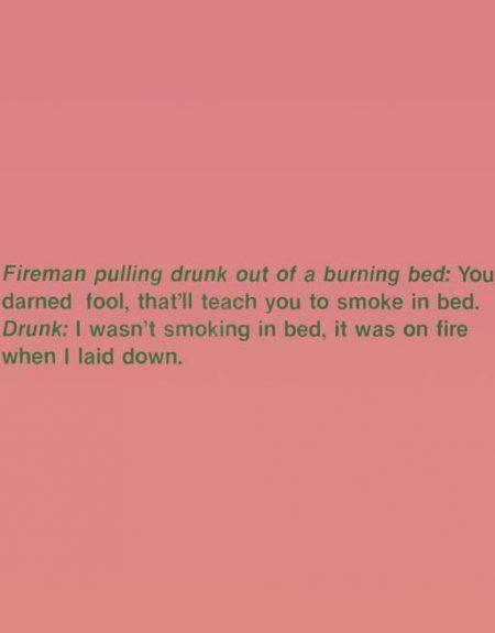 Richard Prince-Fireman and Drunk-1989