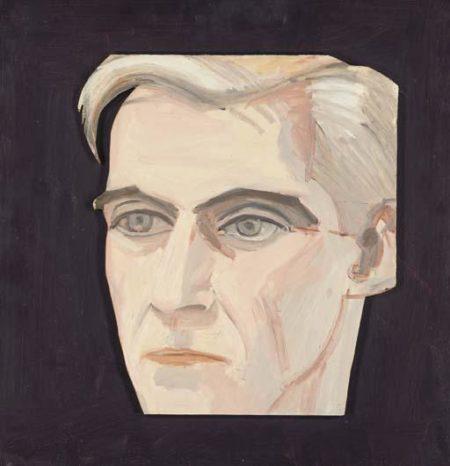 Alex Katz-Portrait of Edwin Denby (Purple Series)-1964