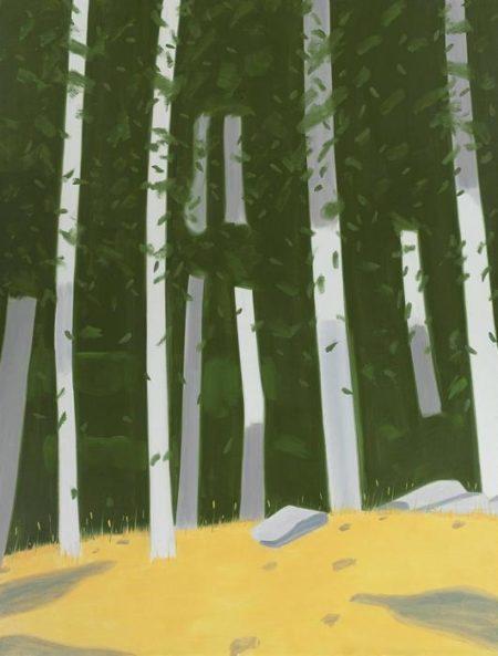 Alex Katz-Poplars-2003