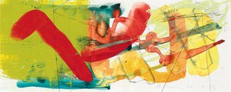 Gerhard Richter-Ohne Titel (20.1.84) / Untitled (20.1.84)-1984