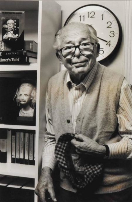 Helmut Newton-Portrait of Billy Wilder-1998