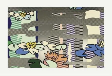 Roy Lichtenstein-Waterlily Pond with Reflections-1992
