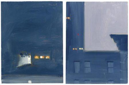 Alex Katz-11 PM; Open Door-1991