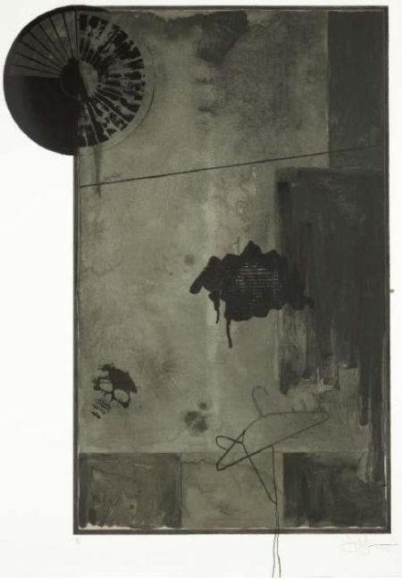 Jasper Johns-Evian Black State (Univeral Limited Art Editions 116)-1972