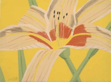 Alex Katz-Day Lilly II (Maravall 24)-1969