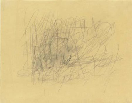 Cy Twombly-Untitled-1955