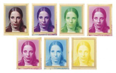 Chuck Close-Leslie (Seven Color States)-1974