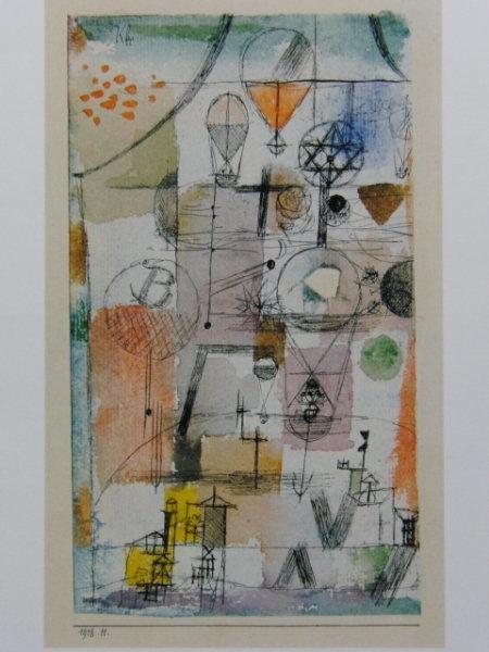 Paul Klee-Gondel-1918
