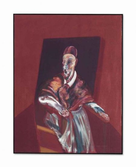 Francis Bacon-Seated Figure-1960