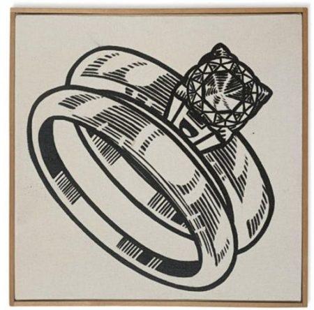 Roy Lichtenstein-The Ring-1962