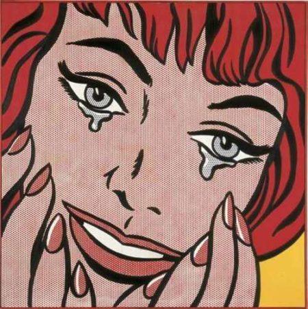 Roy Lichtenstein-Happy Tears-1964