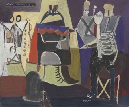 Roy Lichtenstein-Weatherford Surrenders to Jackson-1953