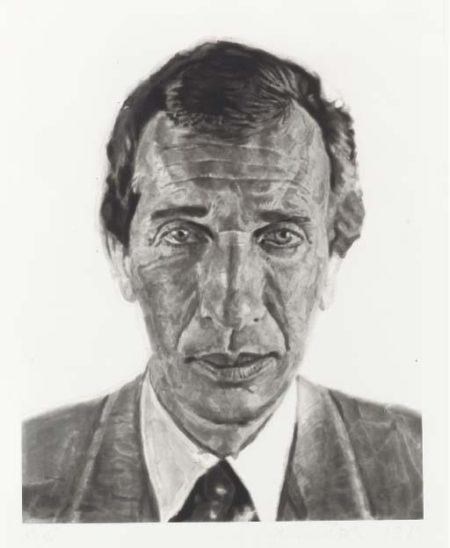 Chuck Close-Arne-1989